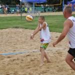 mecz siatkówki plażowej