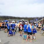 Zawodnicy po biegu