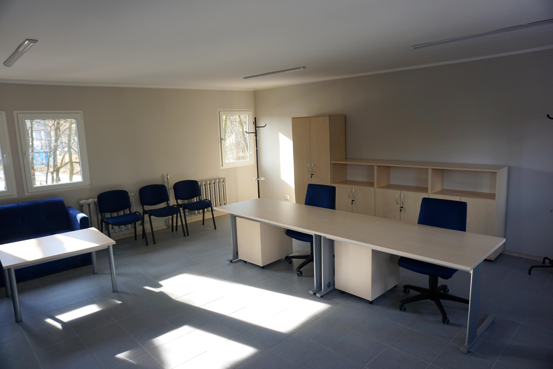 Odnowiona sala wykładowa