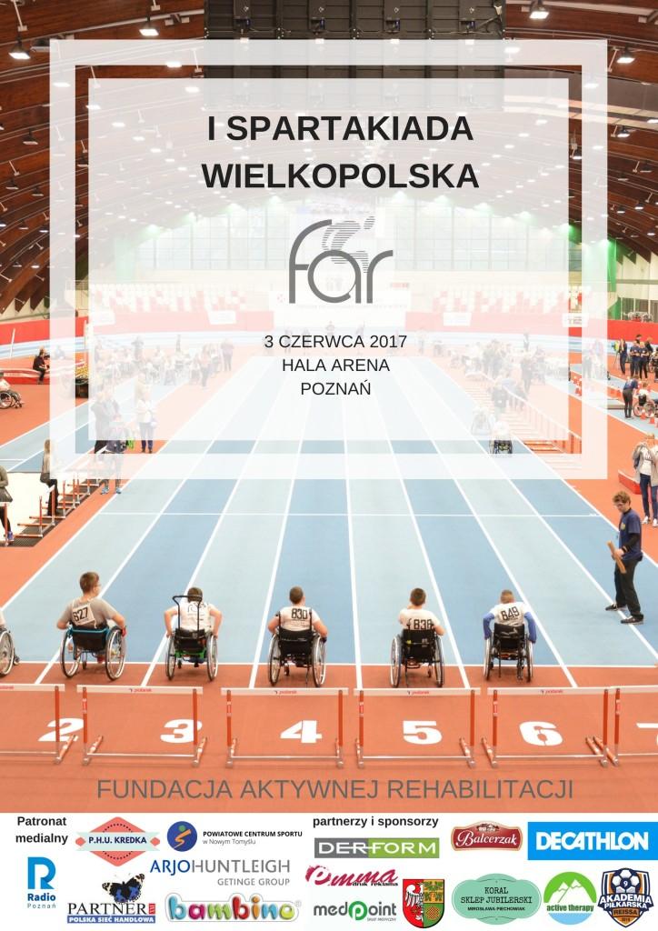 Plakat wydarzenia Spartakiada
