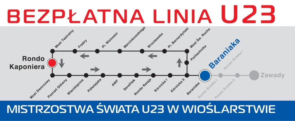 linia tramwajowa U23