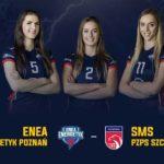 Sportowy weekend na Chwiałce (2) Plakat meczu 1 ligi siatkówki kobiet