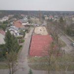 Majakowskiego (1) plac zabaw i boisko z lotu ptaka