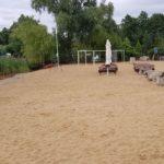 Kaskada (1) Plaża - jezioro -boisko do siatkówki