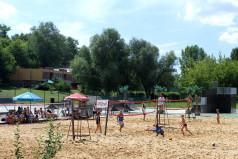 Boisko do siatkówki plażowej (fot. A. Ciereszko)