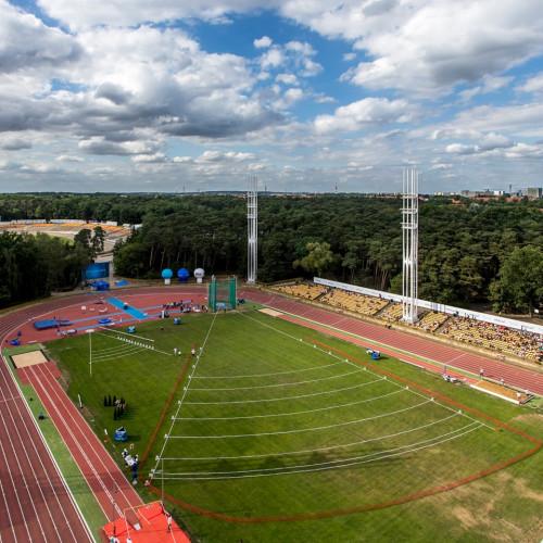 Stadion - ujęcie z drona (fot. A. Ciereszko)