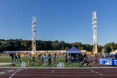 Biegaczki na bieżni (fot. A. Ciereszko)