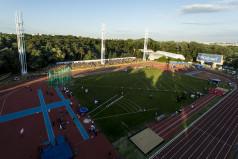 Stadion Golęcin - widok ogólny z lotu ptaka (fot. A. Ciereszko)