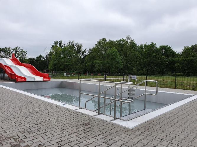 baseny w parku Kasprowicza