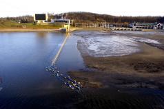 Zdęjcie z poprzedniego czyszczenia dna jeziora