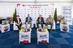 Przedstawiciele Miasta Poznań i PZLA na konferencji