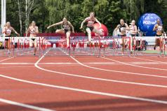 Finał biegu na 100 m przez płotki kobiet