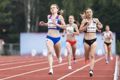 Zwyciężczyni biegu na 5000m
