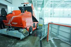 Maszyna do odświeżania lodu na Lodowisku Chwiałka
