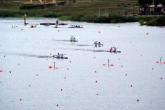 Mistrzostwa Polski Seniorów  w Kajakarstwie - Jezioro Maltańskie podczas regat