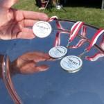 medale dla zwycięzców spartakiady