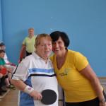 IX Poznańska Spartakiada Seniorów - tenis stołowy