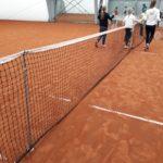 Ferie z POSiR (5) Kort tenisowy dzieci i trenerzy