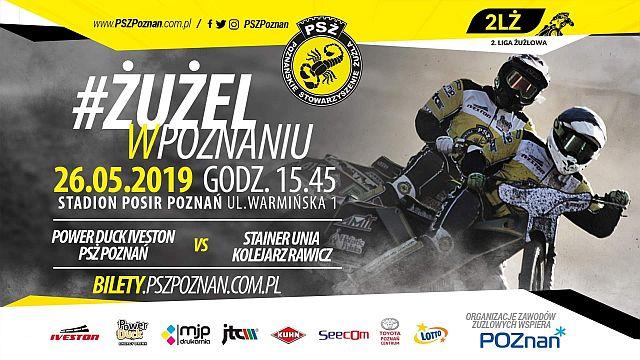 Żużlowe derby na Golęcinie - Plakat wydarzenia