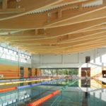 Pływalnia kryta Rataje (1) Widok ogólny na basen sportowy