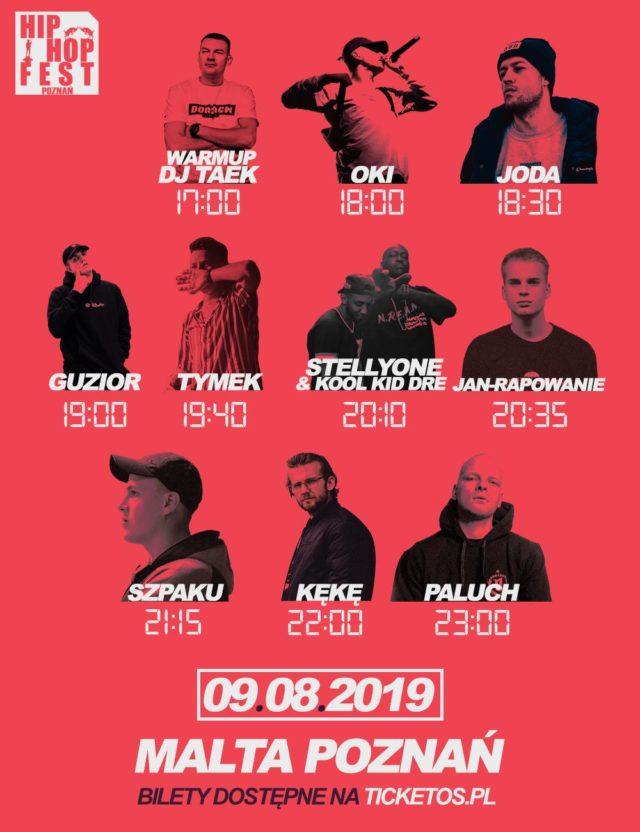 godzinowka 640x832 - Paluch i Kękę zagrają na Poznań Hip-Hop Festival 2019