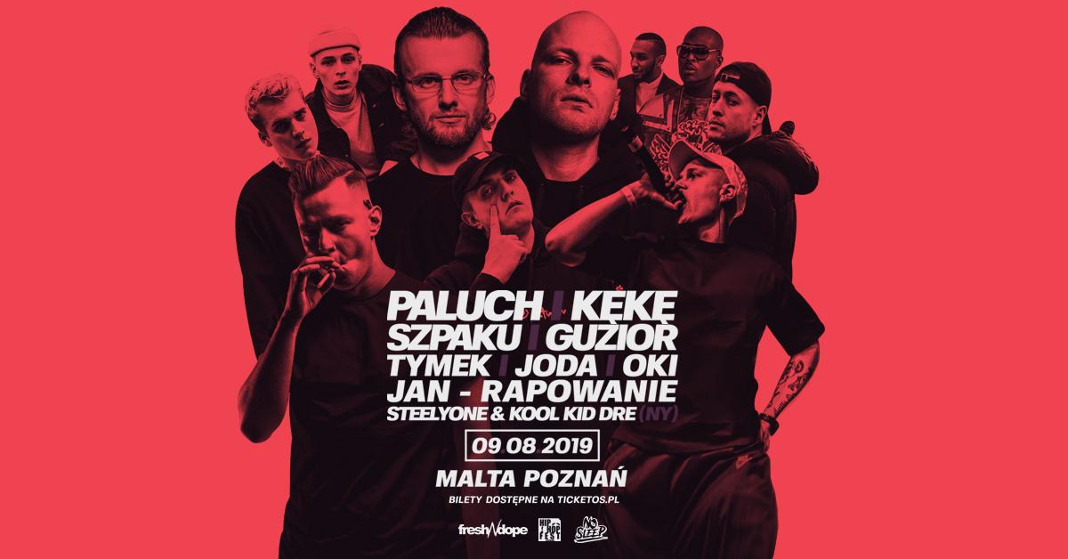 zdj na wydarzenie1 - Paluch i Kękę zagrają na Poznań Hip-Hop Festival 2019