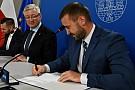 podpisanie umowy intro - Podpisanie umowy z wykonawcą nowej pływalni na Winogradach