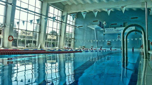 Pływalnia Chwiałka - Basen duży widok ogólny (fot. Bartosz Jasiński)