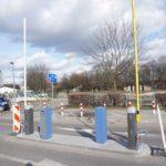 System parkingowy - Szlaban przy wjeździe na parking